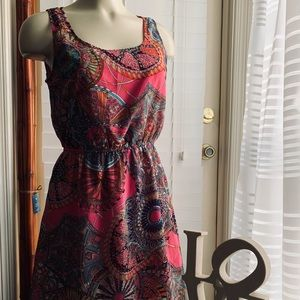 Sleeveless High Lo Dress